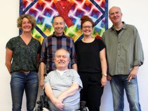 Von links nach rechts: Beate Sietmann, Markus Giesbers, Werner Schäfer (vorne), Dora Steimer, Frank Nackat