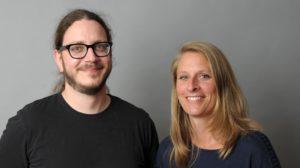 Jan Brinker und Christine Kanz